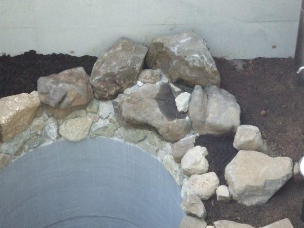 石工事の材料